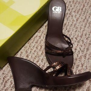 Gianni Bini women's sandal wedges